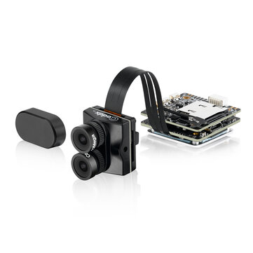 Caddx Tarsier 4K 30fps 1200TVL Dual Lens Super WDR WiFi Mini FPV Camera HD Recording DVR Dual Audio OSD for RC Racing Drone