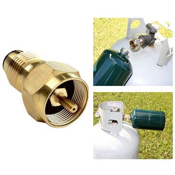 IPRee® Camping Cooking Stove Converter Propane LP Gas Regulator Valve Refill Adapter Cylinder Tank Converter