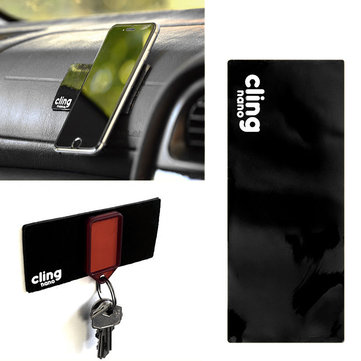 Cling Sticky Cell Pads Anti Slip Gel Pads Holder Holds Cell Phones Pad Keys Camera for Wide Applications