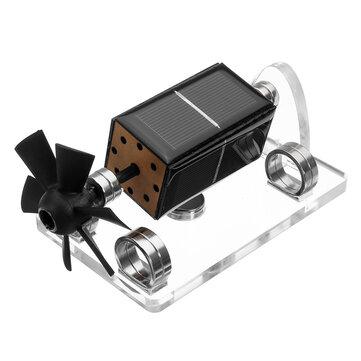 STARK-3 Solar Horizontal Four-side Magnetic Levitation Mendocino Motor Stirling Engine Education Model