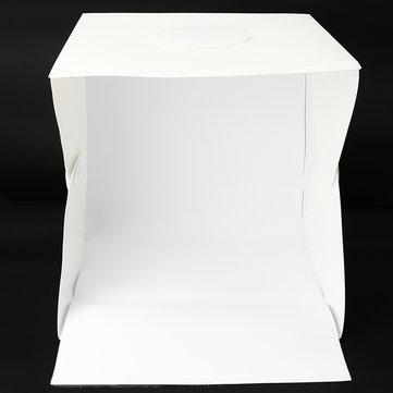 40CM Photo Studio Photography Light Room Tent Kit Backdrop Cube Box