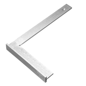L Square Stainless Steel 90 Degree Angle Ruler Measurement Tool Woodworking