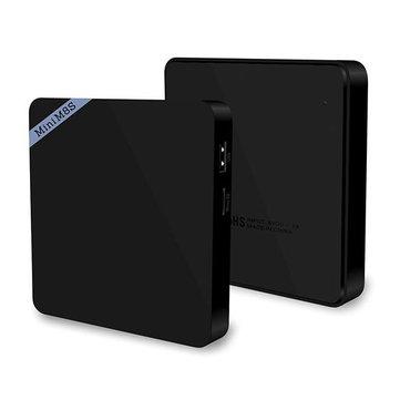 Mini M8S II Amlogic S905X Quad Core 64Bit Android 6.0 2GB DDR3 8GB eMMC ROM 2.4GHz WiFi bluetooth 4.0 VP9 HDR10 4K Android TV Box Mini PC
