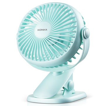 KONKA KF-08U100 USB Mini Fan Dormitory Office Desktop Fan for Children Office Outdoor