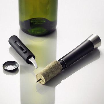 KCASA KC-PO020 Botella de vino tinto Abrepuertas de aire Corcho Popper Bomba Sacacorchos Cork Foil Cutter
