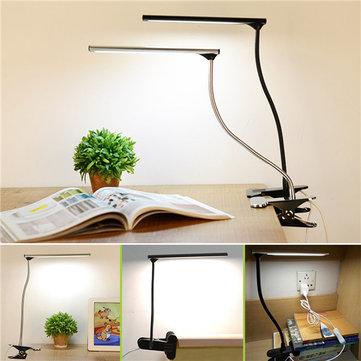 LED Dimmable Desk Lamp USB  Eye Care Table Reading Lights Bedside Bedroom Decor