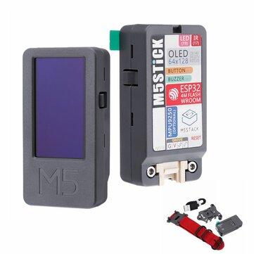 M5Stack® M5Stick ESP32 Mini Geliştirme Kartı Kit 1.3 İnç OLED Buzzer IR Verici Mpu9250, Saatli Kemer