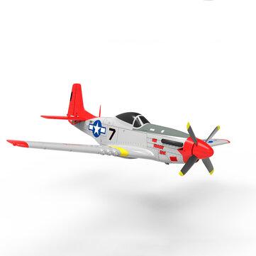 Volantex RC 768-1 Mustang P51D 750mm Wingspan EPO Warbird RC Airplane PNP