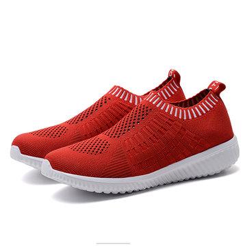 Women Casual Soft Mesh Sport Running Shoe Outdoor Flats