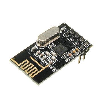 5Pcs NRF24L01+ SI24R1 2.4G Wireless Power Enhanced Communication Receiver Module