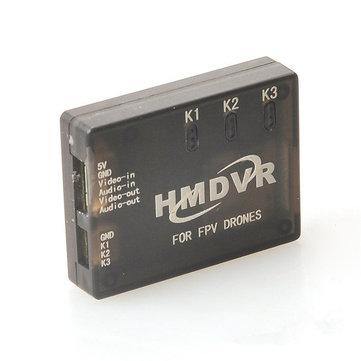HMDVR Mini DVR Video Audio Recorder for RC Drone FPV Racing
