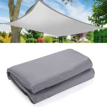Outdoor Heavy Duty Sun Shade Sail Waterproof UV Proof Tent Canopy Shelter Sunshade