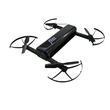 Flitt 720P WIFI FPV Optical Flow Positioning Foldable Pocket Portable RC Drone Quadcopter