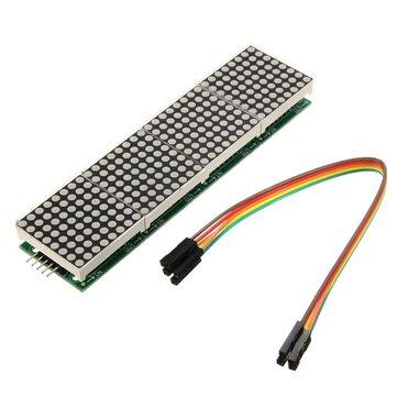 Geekcreit®MAX7219 Arduino用ドットマトリックスモジュール4-in-1ディスプレイ