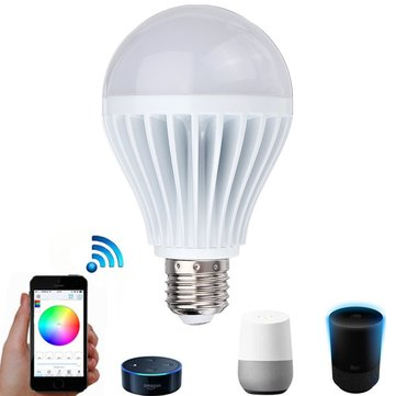 ARILUX® E27 11W RGBW Smart WIFI APP Control LED Light Bulb Work with Alexa Google Home AC100-265V