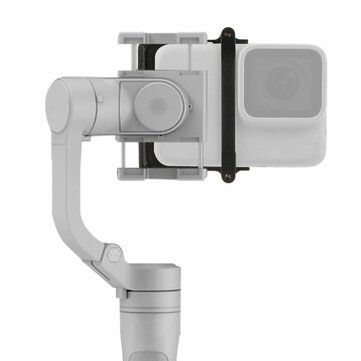 BGNing Handheld Stabilizer Switch Plate Adapter Fixture Mount for GoPro Hero 8/7/6/5 for DJI Osmo Action XiaoYi SJCam Ricca Camera