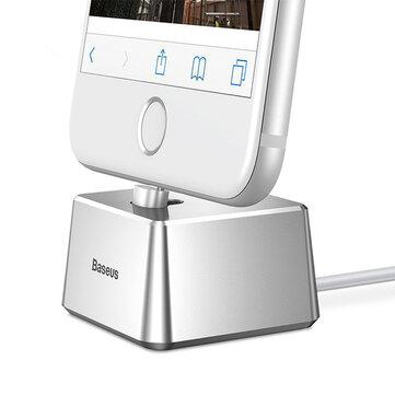 Baseus Quadrate Máy tính để bàn Trạm giữ giá đỡ USB Giá đỡ cho iPhone 8 X