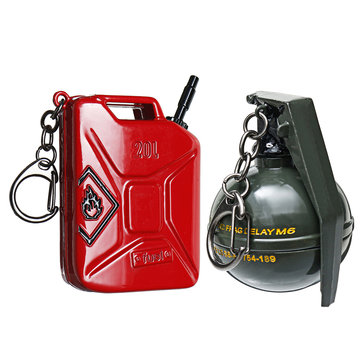 Zinc Alloy Fuel Grenade Weapons Decorative Hanging Key Chains Keychain