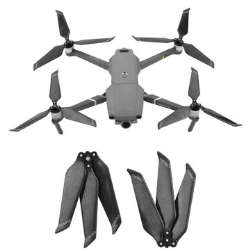 8743 Carbon Fiber 3-blade Propeller Props Foldable Noise Reduction for DJI Mavic 2 Pro/Zoom Drone