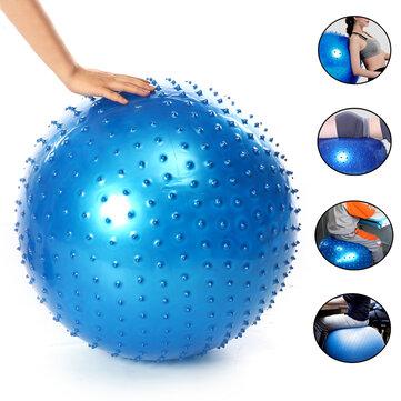 PVC Exercise Ball Anti Burst Professional Massage Inflatable Balance Control Pilates Yoga Ball with Pump