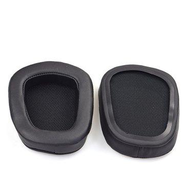 2Pcs PU Mesh Cuffie Orecchio Cushion Pads Headband Cove per Logitech G633 G933 Cover
