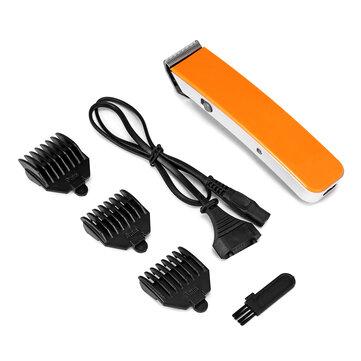 Ricaricabile Electric Capelli Clipper Cutter Beard Shaver Rasoio Trimmer Groomer