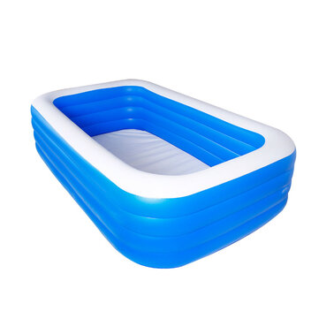 3/4 Layers Inflatable Swimming Pool Home Camping Garden Ground Pool
