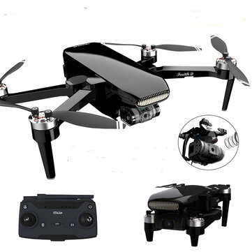 C Fly Faith 2 5G WIFI 3KM FPV with 3 Axis Brushless Mechanical Gimbal 4K 30fps Camera 35mins Flight Time Ultrasonic GPS Foldable RC Quadcopter RTF