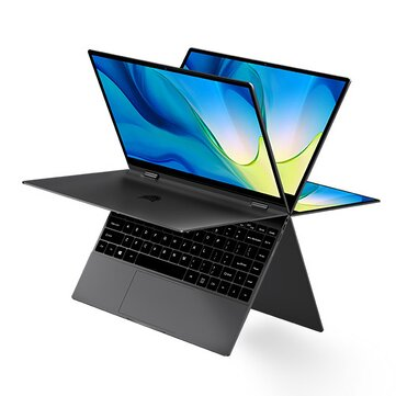 BMAX Y13 Pro YUGA Laptop 13.3 inch 360_degree Touchscreen Intel Core m5_6Y54 8GB RAM 256GB SSD 38Wh Battery Full_featured Type_C Backlight 5mm Narrow Bezel Notebook