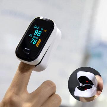BOXYM oFit-2 Finger-Clamp Pulse Oximeter Finger Blood Oxygen Saturometro Heart De Oximeter Portable Pulse Oximetro Monitor