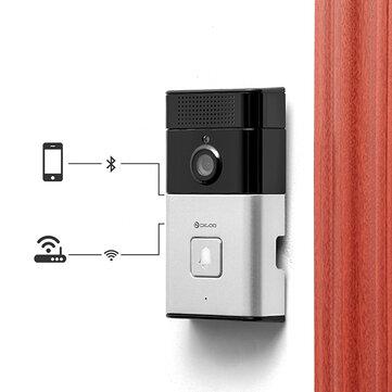 DIGOO एसबी-XYZ वायरलेस ब्लूटूथ और वाईफ़ाई स्मार्ट होम HD वीडियो डोरबेल कैमरा फोन की अंगूठी