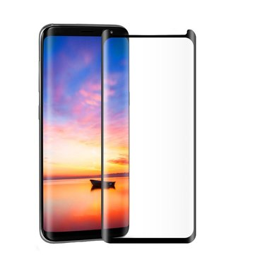 buy popular 82fd3 b3e67 Bakeey Full Adhesive 3D Curved Edge Case Friendly Tempered Glass Screen  Protector For Samsung Galaxy S8 Plus