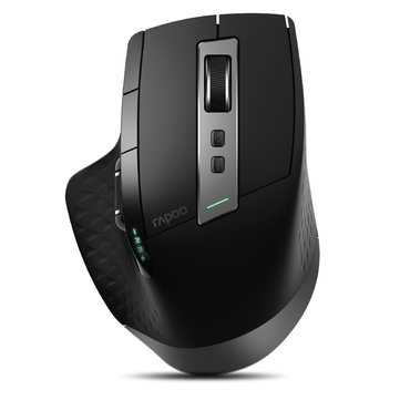 Rapoo MT750S Rechargeable Multi-mode Wireless Mouse bluetooth 3.0/4.0 2.4GHz Switch Among 4 Devices