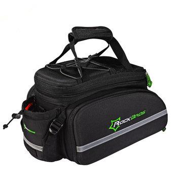 ROCKBROS Cycling Rear Bag Bicycle Trunk MTB Pannier Rear Rack Pack Carrier Bag