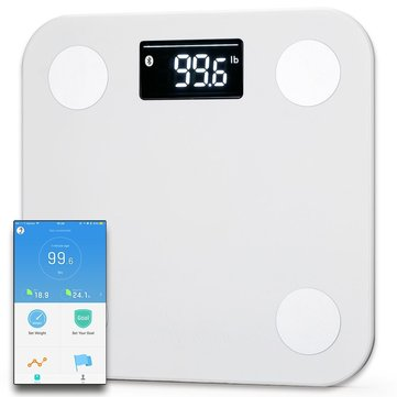 Yunmai Mini Smart Body Fat Scale Body Composition BMI Monitor 10 Body Data bluetooth Multi User App with Fitness Scheme