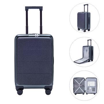 90FUN 20inch Suitcase TSA Lock 36L Luggage Case From Xiaomi youpin