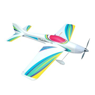 Thunder / Rainbow 890mm Wingspan EPO F3A 3D Aerobatic RC Airplane KIT With Motor Mount