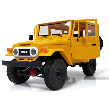 WPL C34 1/16 RTR 4WD 2.4G Buggy Crawler Off Road RC Car 2CH Vehicle Models With Head Light
