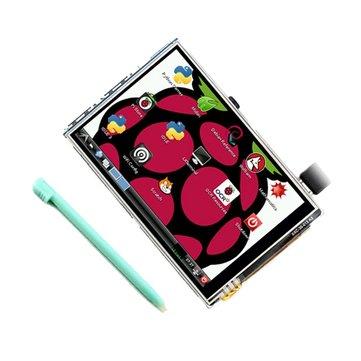 Geekcreit® 3.5 İnç 320 X 480 TFT LCD Ekran Dokunmatik Kart için Raspberry Pi 3 Model B RPI 2B B+