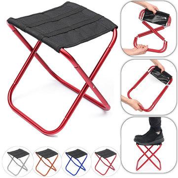 al aire libre Silla plegable de aluminio portátil al aire libre cámping Silla plegable de picnic