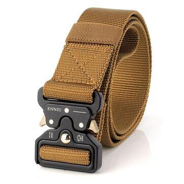 Survival Military Nylon Belts For Men Tactical Belt Waist Belt Strap Military Emergency EDC Gadget