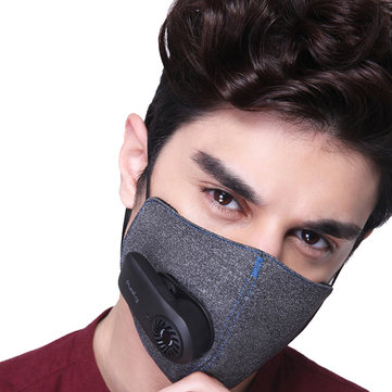 Purely KN95 Anti-Pollution Air Face Mask with PM2.5 550mAh Battreies Rechargeable Filter From Xiaomi Youpin