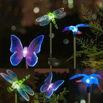 Solar Power Animal Colorful LED Light Garden Landscape Decoration Waterproof Lamp