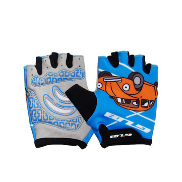 GUB S022 Children Bicycle Gloves Outdoor Cycling Half Finger Motorcycle Jogging Running Sports Safety Protector