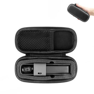 IPRee FOR DJI Pocket 2 OSMO POCKET Carrying Case Waterproof Travel Storage Shell Collection Box for sale in Litecoin with Fast and Free Shipping on Gipsybee.com