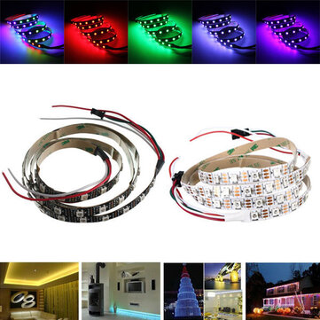 1M WS2812 IC SMD5050 Dream Color RGB Non-Waterproof LED Strip Light Individual Addressable DC5V