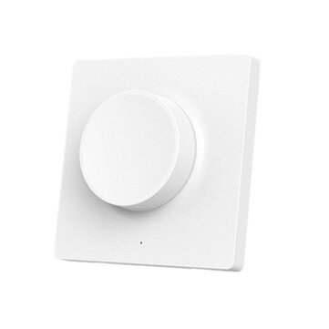 Yeelight YLKG08YL Smart bluetooth Wall Pasted Dimmer Light Switch for Ceiling Lamp (Xiaomi Ecosystem Product)