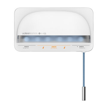 OCLEAN S1 Smart UVC Toothbrush Sterilizer Holder Wall-Mounted Perforated-Free Toothbrush Storage Shelf Ultraviolet Sterilization for sale in Litecoin with Fast and Free Shipping on Gipsybee.com