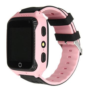 Q529 Enfants Montre-bracelet intelligente Téléphone GPS Traqueur SOS Appel Lampe de poche Caméra pour IOS