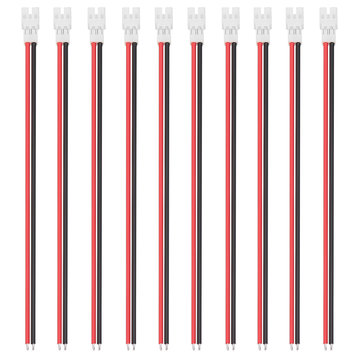 10Pcs 55mm 24AWG Upgraded Tiny Whoop JST-PH 2.0 Female Plug Silicone Cable for UR65 US65 UK65 Beta65